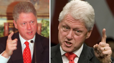 Clinton then and now