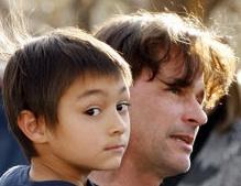 Heene and son Falcon