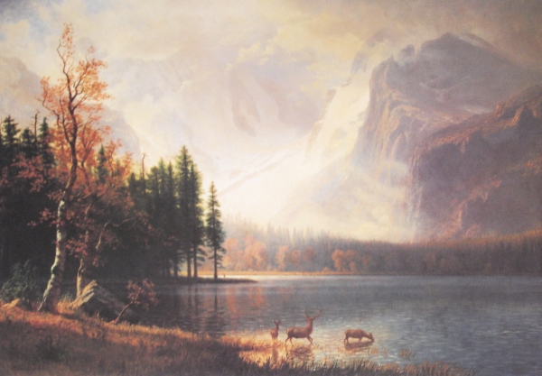 "Bierstadt's ""Whyte's Lake, Colorado"""