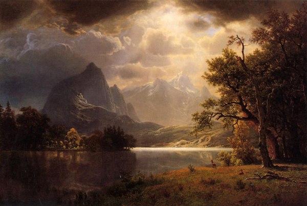 """Bierstadt's """"Estes Park, Colorado"""""""