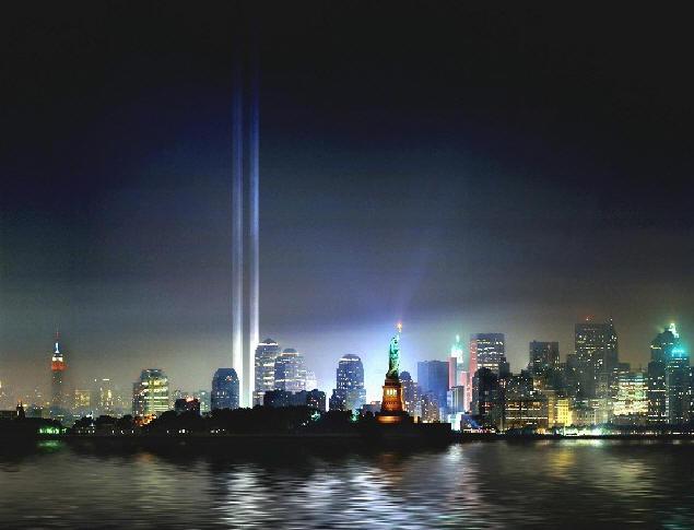WTC Memorial, Aug 29, 2002