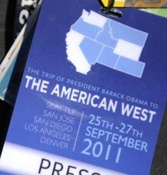 American West press pass
