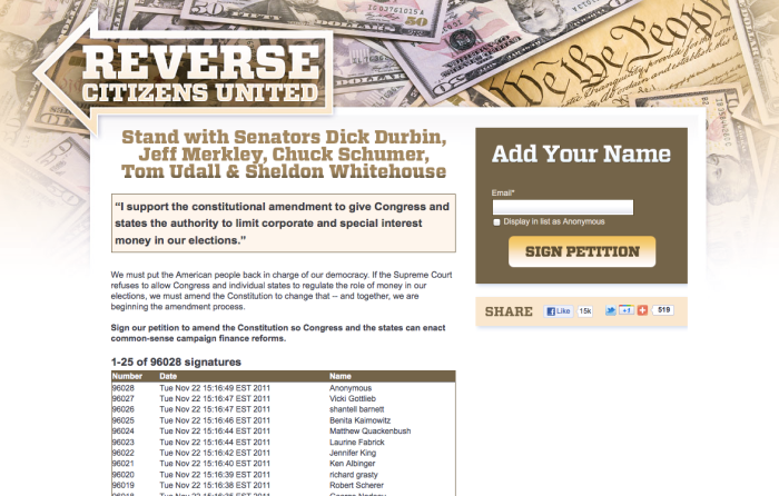 Reverse Citizens United