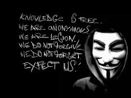 Anonymous - knowledge is free