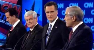 Santorum, Gingrich, Romney, and Paul