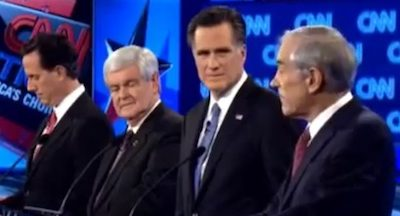 Santorum, Gingrich, Romney, and Paul