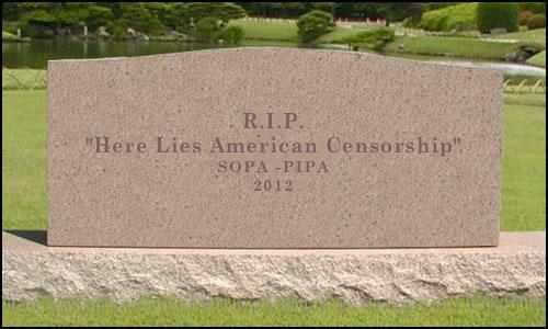 SOPA tombstone