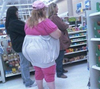Walmart woman