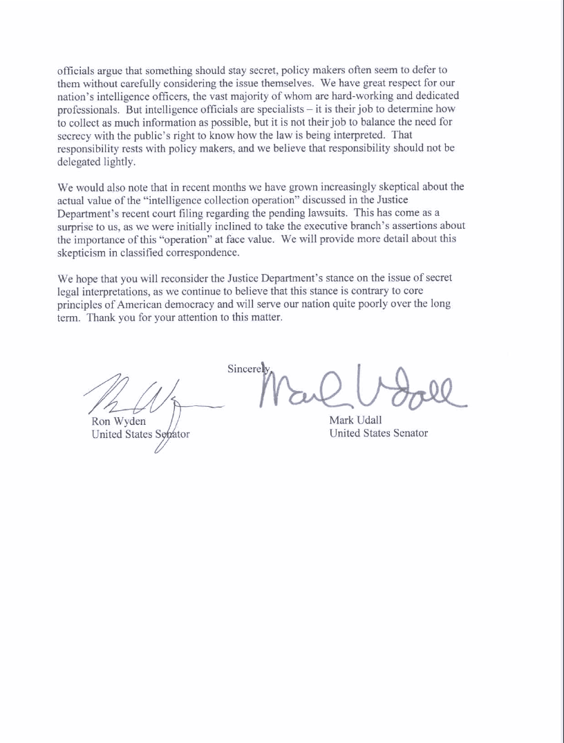 Wyden Udall letter to Holder about Patriot Act, page 3