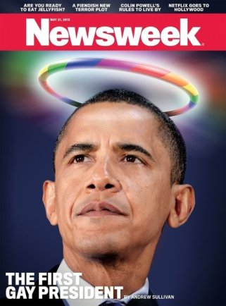 Newsweek - Obama, the First Gay President