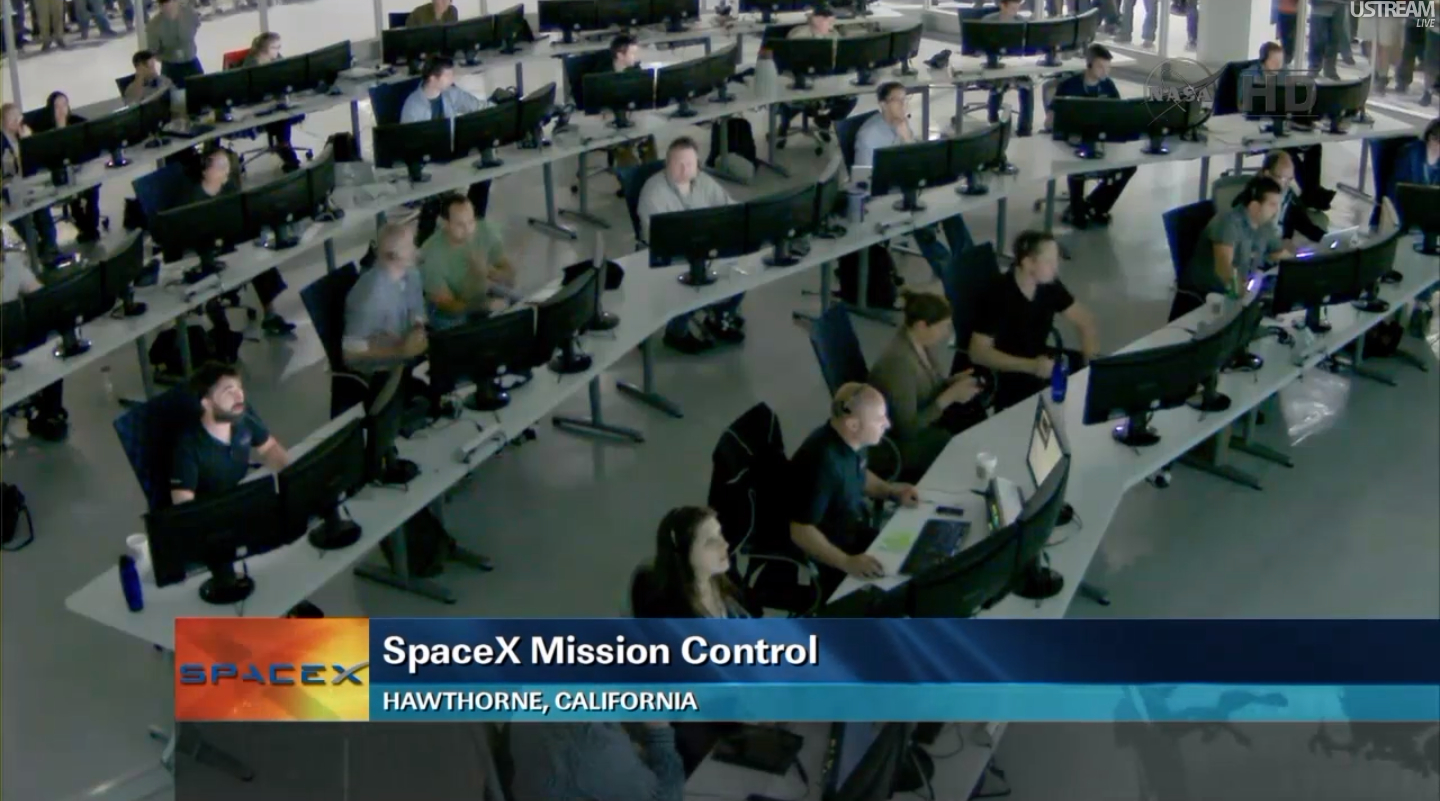 spacex launch control center - photo #22