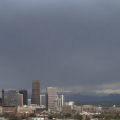 Rain in Denver