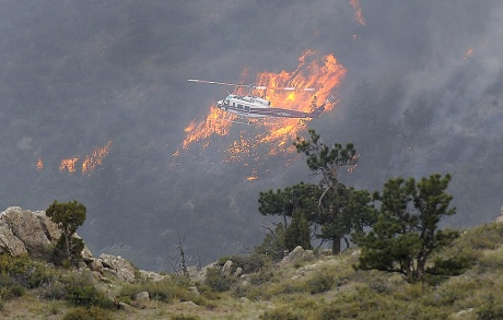 High Park Fire. Photo: Karl Gehring, The Denver Post