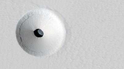 Mars hole