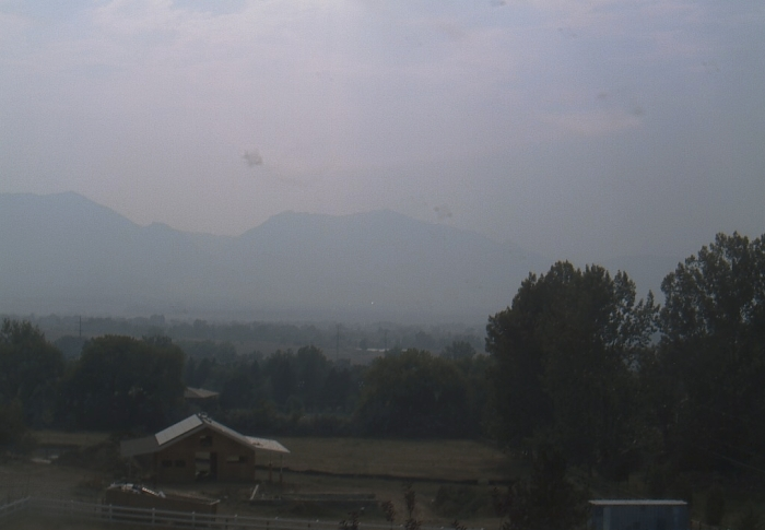 Smoke over Boulder Valley