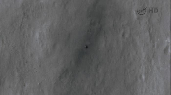 Curiosity on the Martian surface