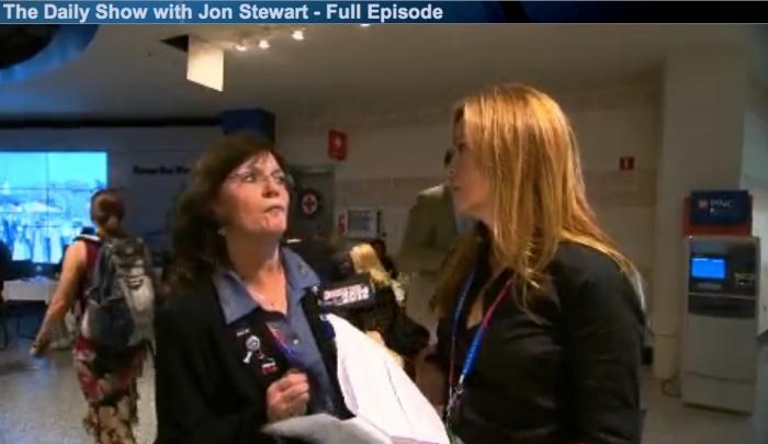 Samantha Bee interviews GOP delegates