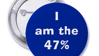 I am the 47% pin