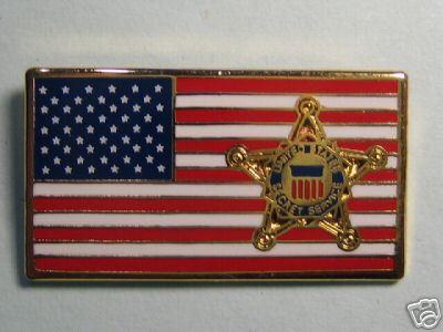 Secret Service pin
