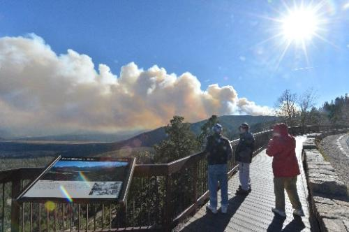 The view from Many Parks Curve on Trail Ridge Road. (Photo: ColoradoDaily.com)