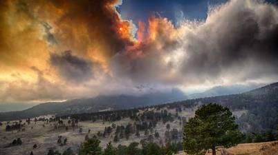 Fern Lake Fire, Rocky Mountain National Park
