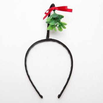 mistletoe-headband