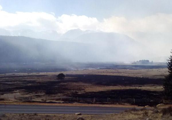 Moraine Park fire