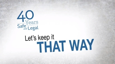 40 years safe and legal