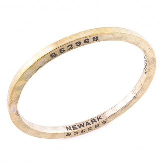 brass bangle from Caliber Collection