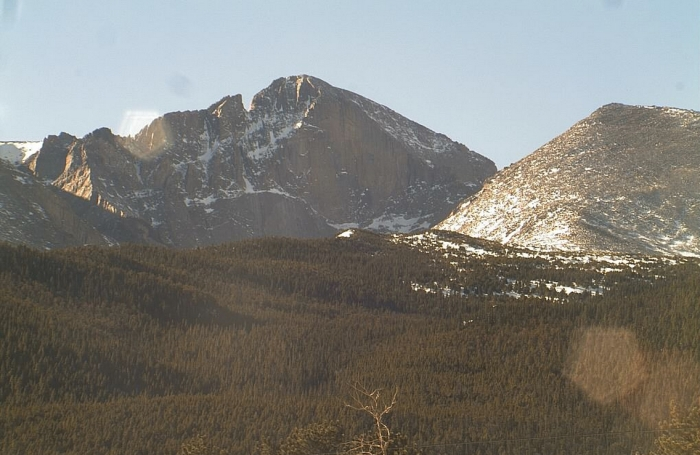 East Face, Longs Peak, Rocky Mountain National Park