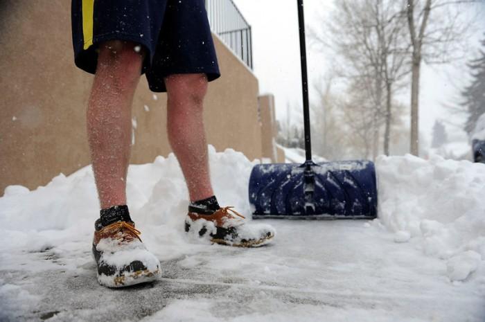 Denver snow, Feb 24