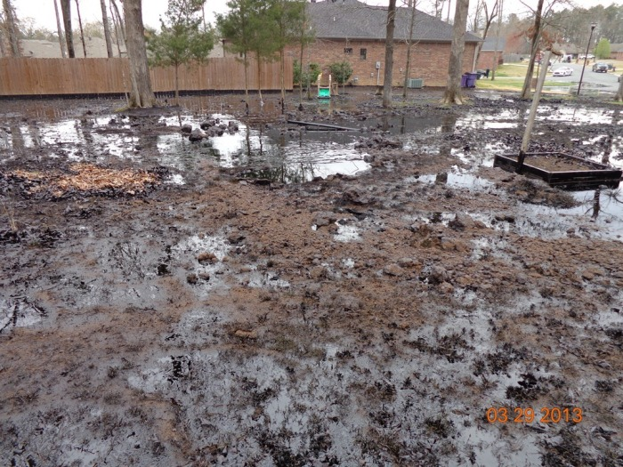 Exxon oil spill, Mayflower, Ark., March 2013