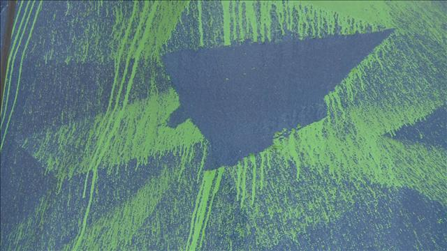 Suspect released in green paint vandalism of Denver's Big Blue Bear