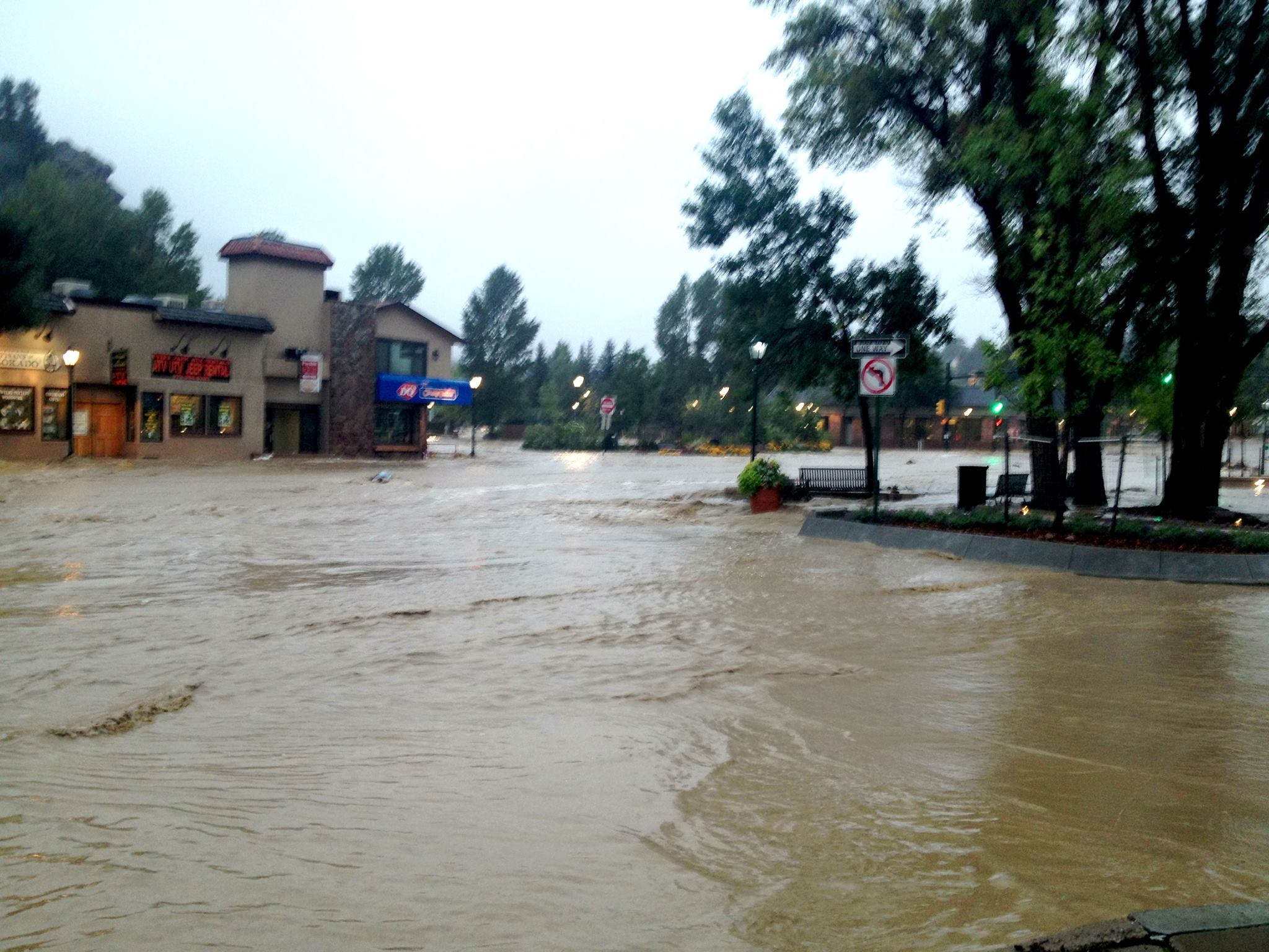 flooding in estes park  webcams  phones down  u2013 pied type