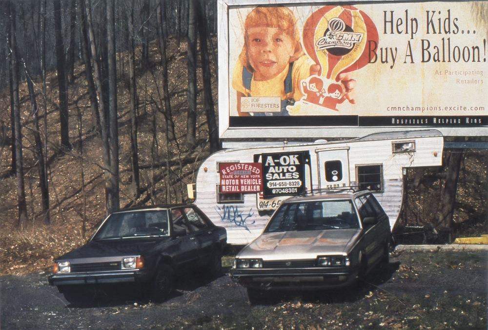 """Page 242 - John Salt. A-OK Auto. 2002-3. Casein on linen, 43 x 66.5"""". Courtesy Abrams."""