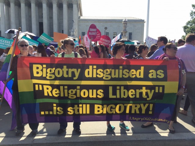 "Bigotry disguised as ""Religious Liberty"" is still bigotry!"