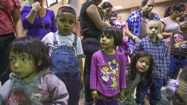 Undocumented Central American children have become pawns in the immigration games at the U.S.-Mexican border.