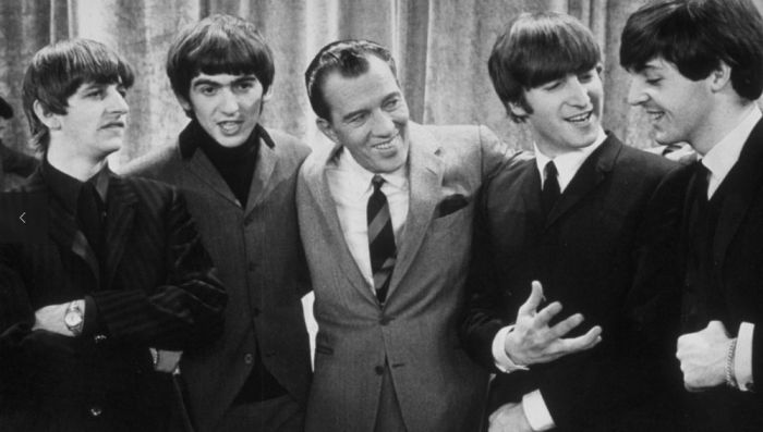 "The Beatles made their first appearance in America in 1964 on the ""The Ed Sullivan Show."""