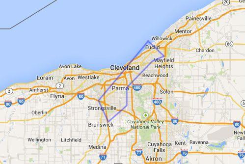 Gaza-Cleveland-map