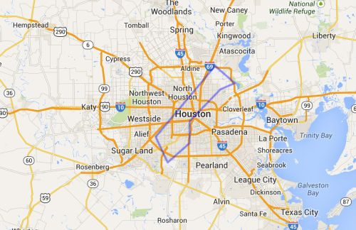 Gaza-Houston-map