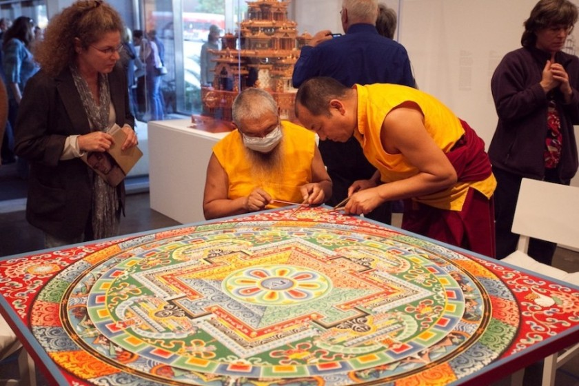 monkssandpainting