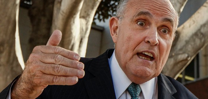 Rudy Giuliani (AP Photo/Damian Dovarganes)