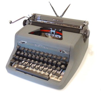 1950s Royal portable typewriter