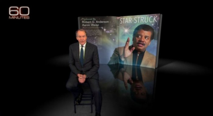 "Charlie Rose interviews Neil deGrasse Tyson on ""60 Minutes"""