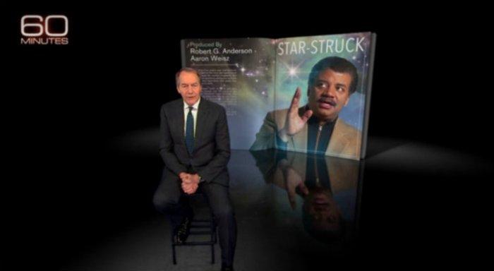 "Charlie Rose interviews Neil deGrasse Tyson on ""60 Minutes"""