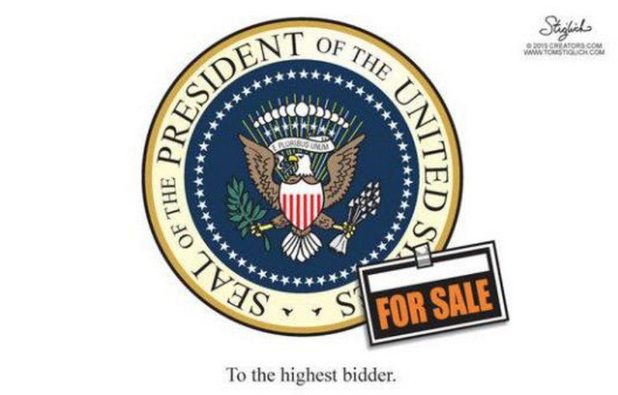 For Sale: The Presidency of the United States