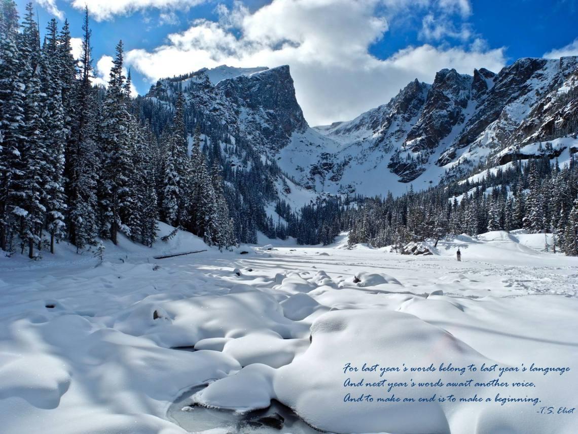 Hallett Peak and Dream Lake, Rocky Mountain National Park (File photo Feb 2015 of Dream Lake NPS/VIP Olsen)