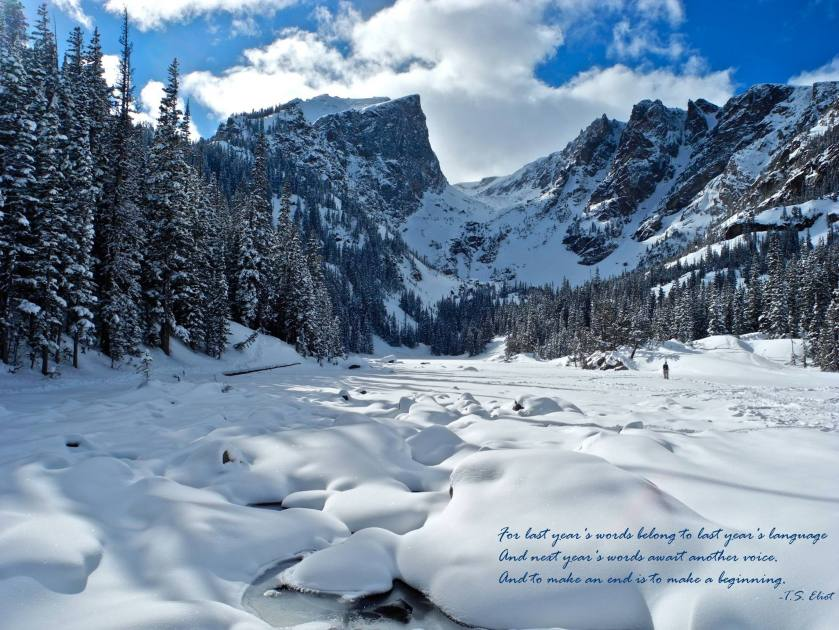 Hallett Peak and Dream Lake, Rocky Mountain National Park (File photo Feb 2015 of Dream Lake NPS/VIP Olsen)