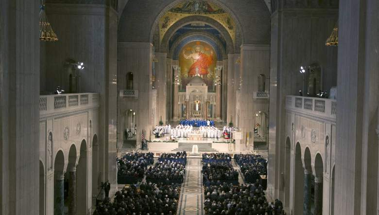Justice Scalia's funeral mass