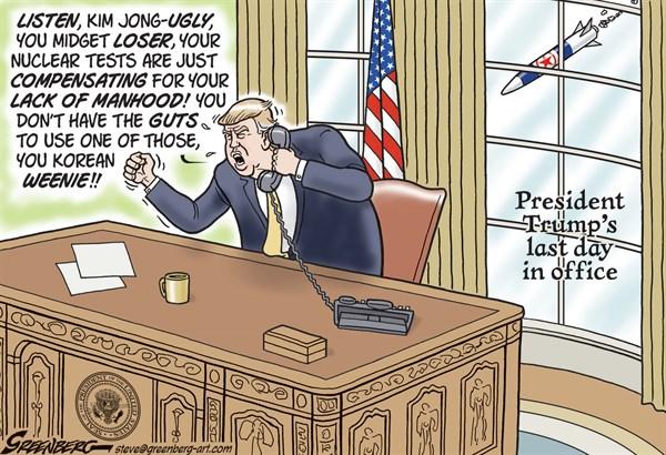 Trump vs Korea